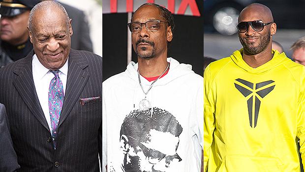 Bill Cosby, Snoop Dogg, Kobe Bryant