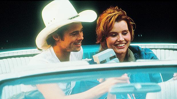 Brad Pitt & Geena Davis