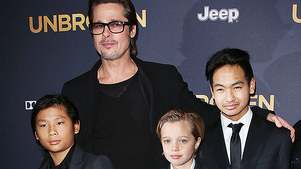 Brad Pitt & Kids