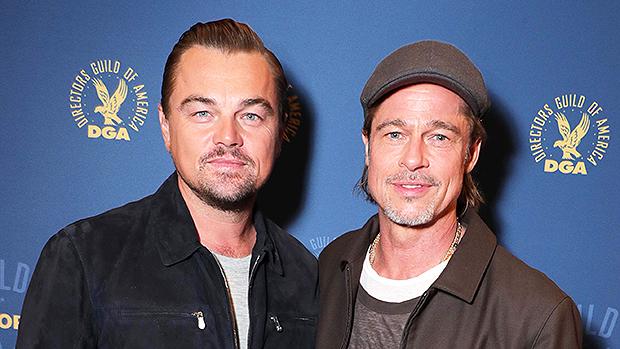 Leonardo Di Caprio and Brad Pitt