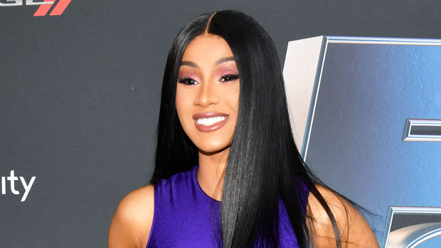 Cardi B at the 'Road To F9' event in Miami