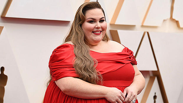 Chrissy Metz Looks Radiant In Red Gown At Oscars Ahead Of Performance