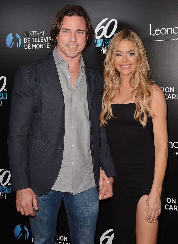 Denise Richards & Aaron Phypers At Monte-Carlo Television Festival