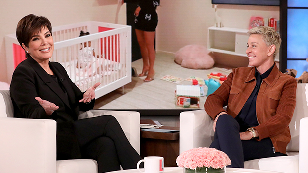 Kris Jenner & Ellen DeGeneres