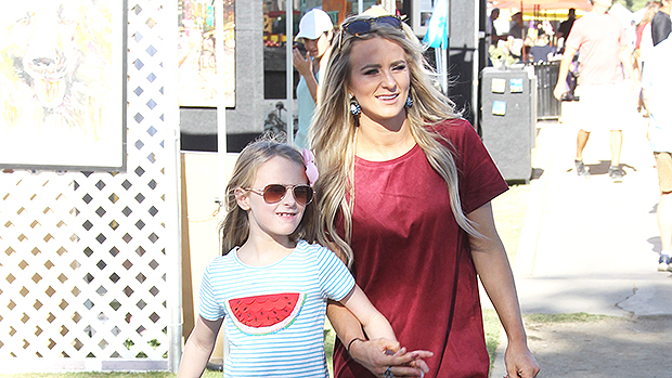 Leah Messer & Daughter Aleeah
