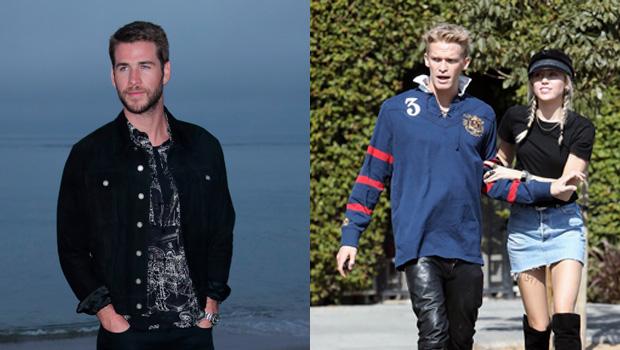 Liam Hemsworth, Miley Cyrus, Cody Simpson