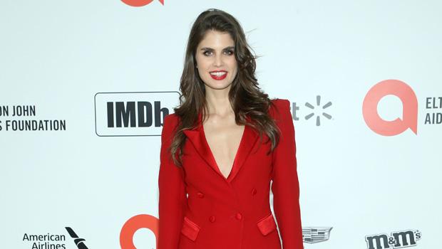 Livia Pillmann on the red carpet