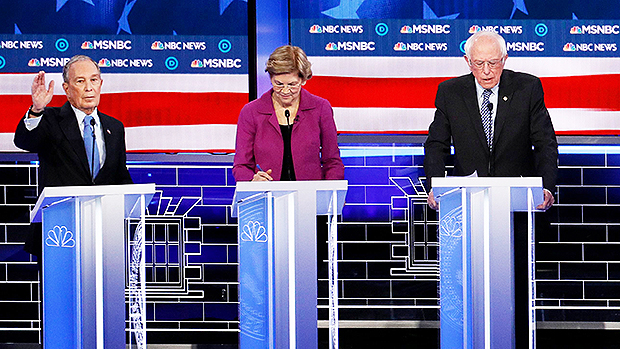 Michael Bloomberg Elizabeth Warren Bernie Sanders