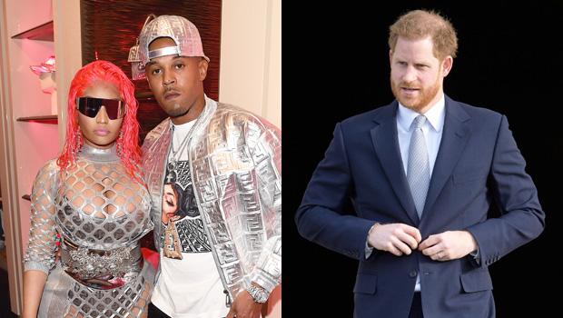 Nicki Minaj, Kenneth Petty, Prince Harry