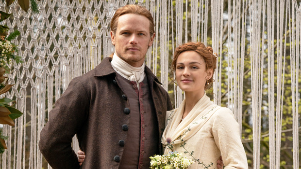 Outlander S Sam Heughan On Jamie Being A Part Of Brianna S Wedding Hollywood Life
