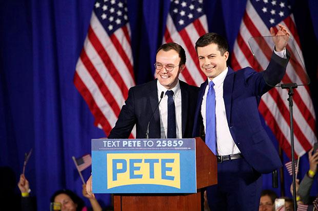 Pete Chasten Buttigieg