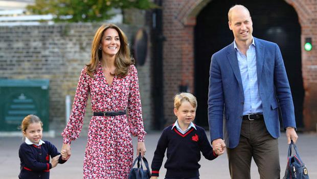 Kate Middleton, Prince George, Princess Charlotte