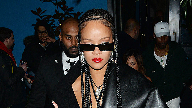Rihanna Valentine's Day plans