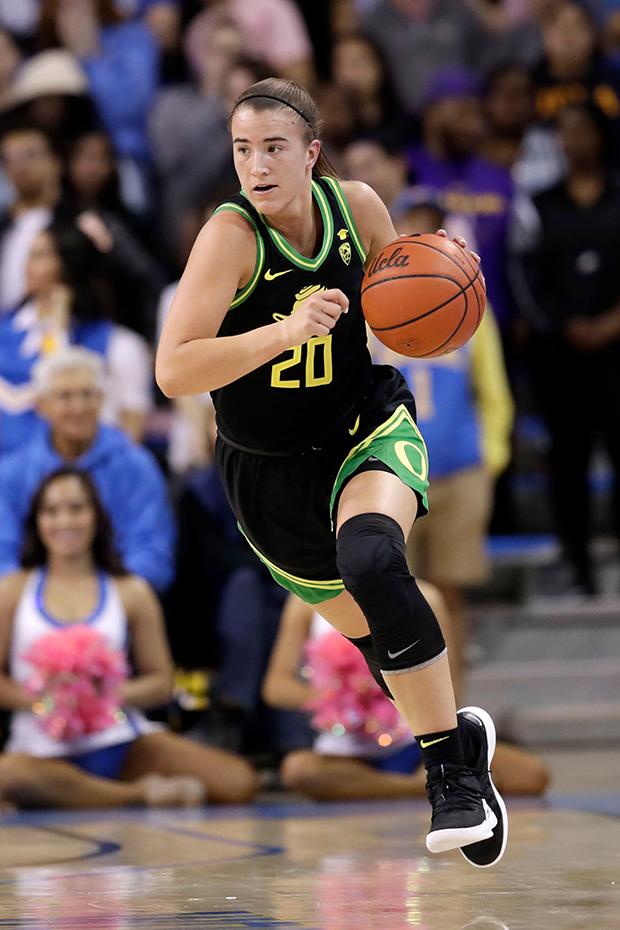 Sabrina Ionescu for Oregon
