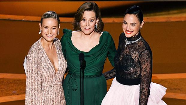 Brie Larson, Sigourney Weaver, Gal Gadot Oscars 2020