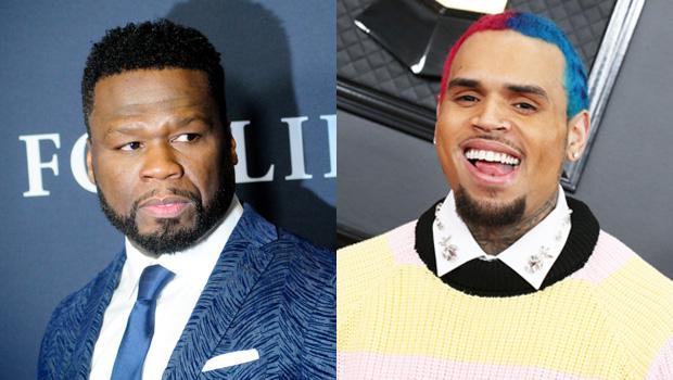 50 Cent, Chris Brown
