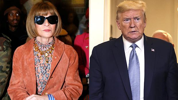 Anna Wintour Donald Trump