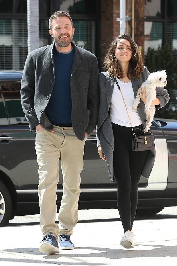 Ben Affleck & Ana de Armas out for coffee