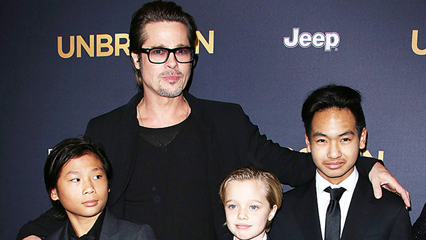 Brad Pitt Maddox Shiloh Pax