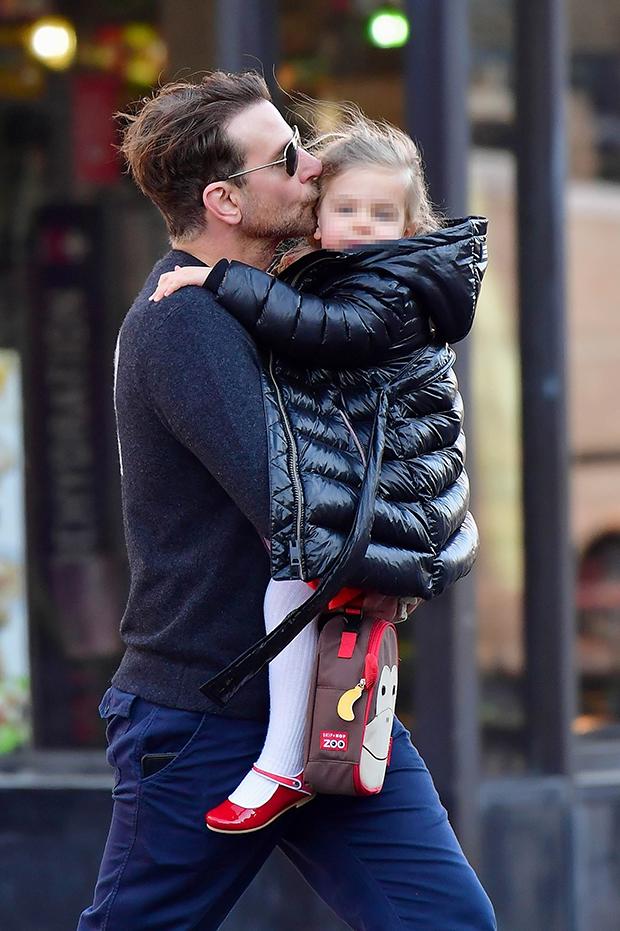 Bradley Cooper & daughter Lea