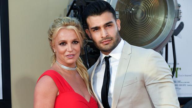 Britney Spears and Sam Asghari