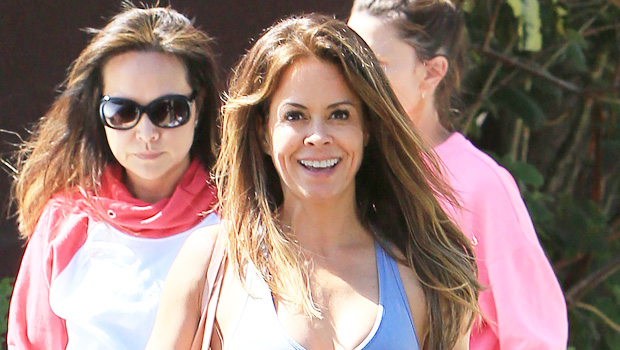 Brooke Burke out in LA