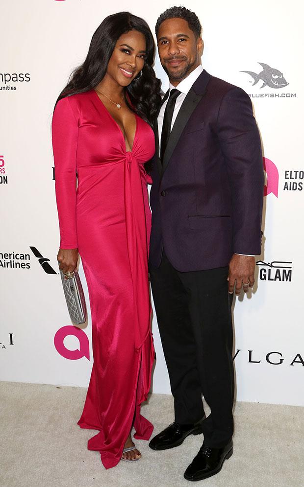 Kenya Moore & Marc Daly
