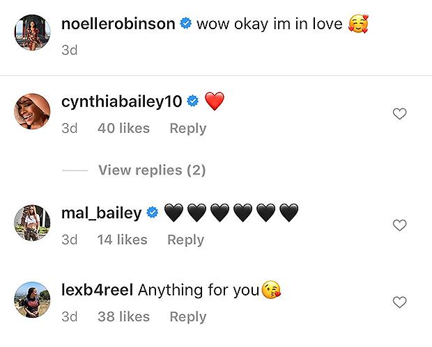 Noelle Robinson, Cynthia Bailey