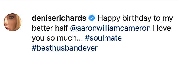 Denise Richards' Instagram