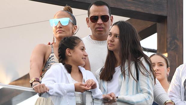 Jennifer Lopez & Alex Rodriguez's Family