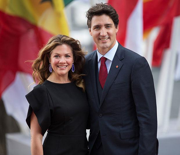 Sophie Grégoire Trudeau Justin Trudeau