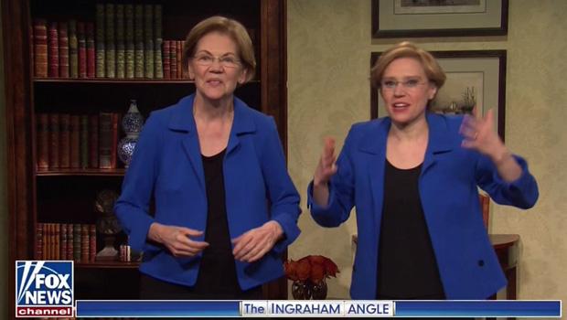 Elizabeth Warren, Kate McKinnon
