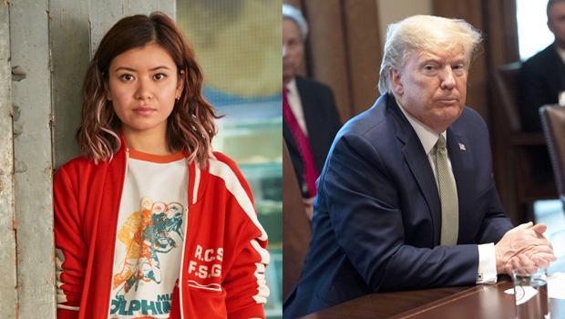 Katie Leung, Donald Trump
