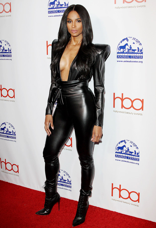 Ciara5th Annual Hollywood Beauty Awards, Los Angeles, USA - 17 Feb 2019 Wearing Michael Costello