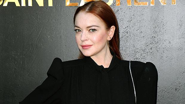 Lindsay Lohan on the red carpet
