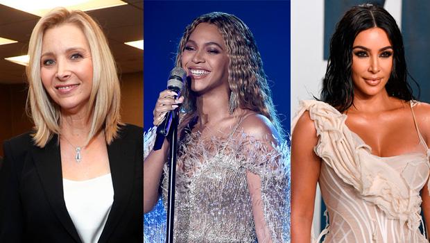 Lisa Kudrow, Beyonce, Kim Kardashian