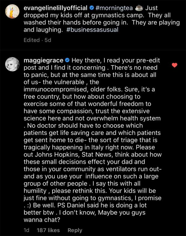 Maggie Grace & Evangeline Lilly