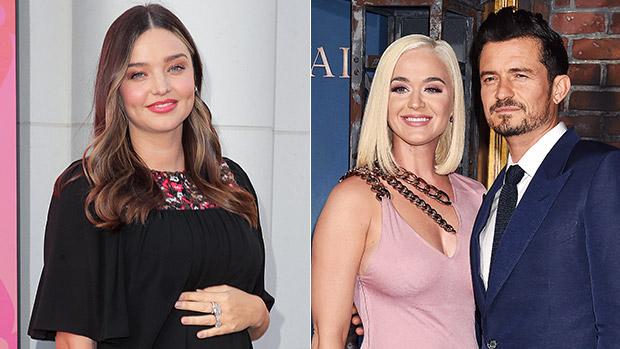 Miranda Kerr, Katy Perry & Orlando Bloom
