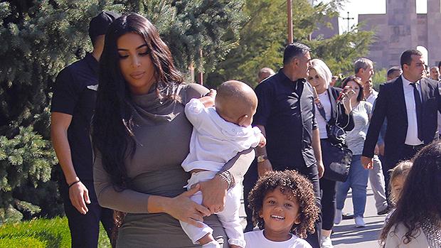Kim Kardashian, Saint West, Psalm West