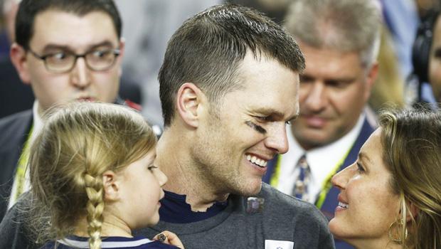 Tom Brady Gisele Bundchen Their Kids Sweetest Super Bowl Pics Hollywood Life
