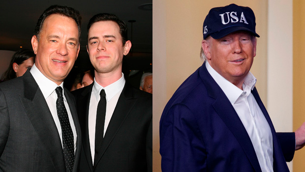 Tom Hanks, Colin Hanks, Donald Trump