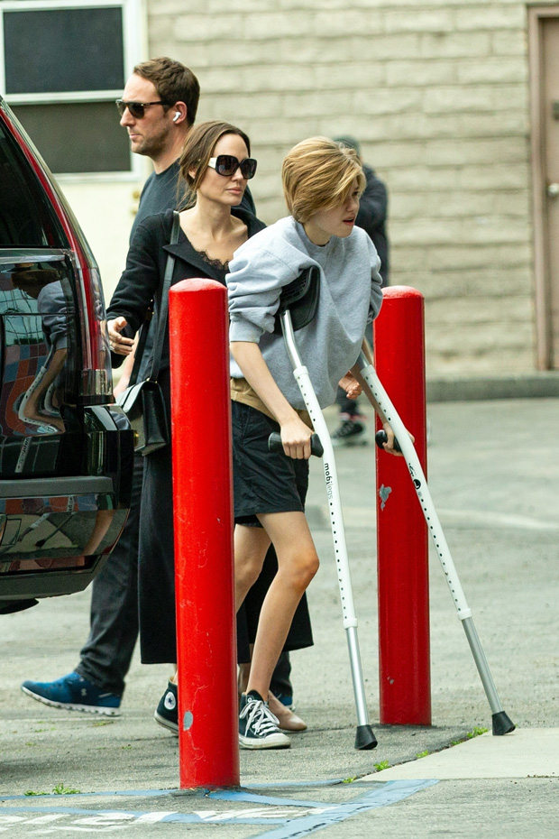 Angelina Jolie and Shiloh-Jolie Pitt