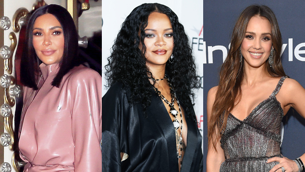 Kim Kardashian, Rihanna, Jessica Alba