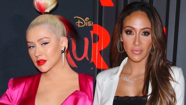 Christina Aguilera & Melissa Gorga