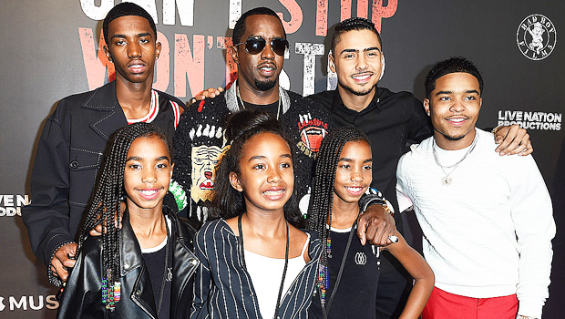 Diddy & his kids