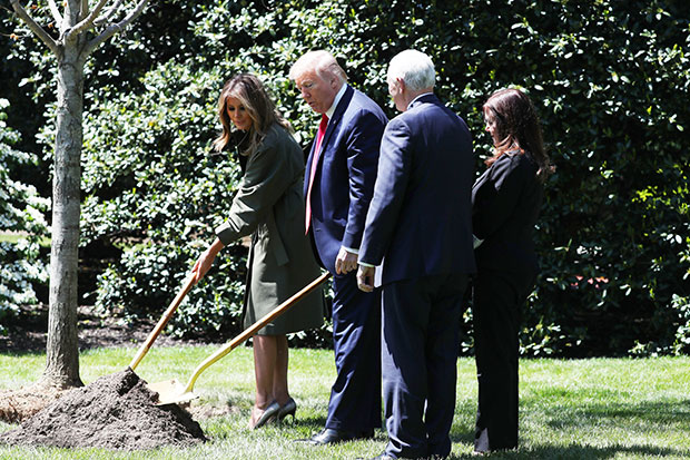 Donald Trump Melania Trump Mike Pence