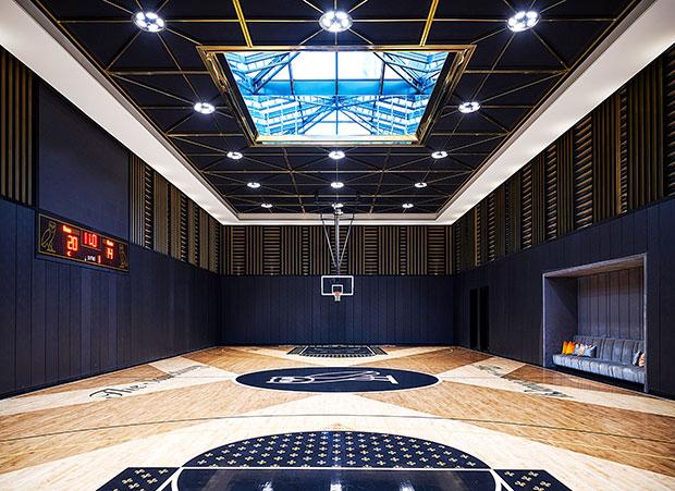 Drake's Basketball Court