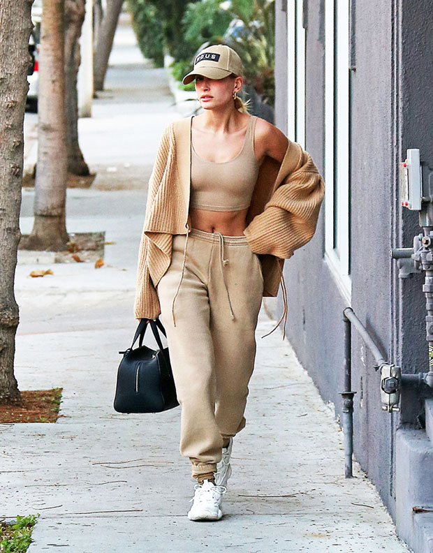 Hailey Baldwin in LA