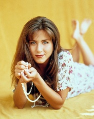 Editorial use only. No book cover usage. Mandatory Credit: Photo by Tri Star Tv/Kobal/Shutterstock (5853885a) Jennifer Aniston Jennifer Aniston - 1992 Tri Star TV TV Portrait Edge, The (US TV Series)
