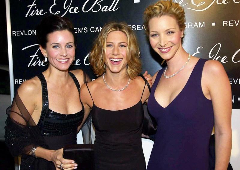 Courteney Cox Arquette, Jennifer Aniston, Lisa Kudrow